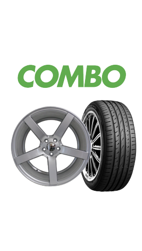 """215/35R18 + 18"""" 5x100 Wheel and Tyre Combo"""